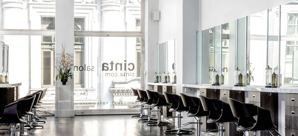 We're choosing the best hair salon.