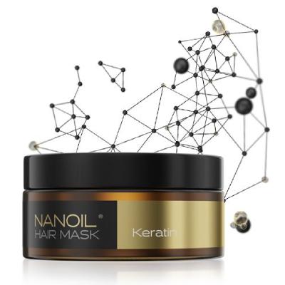 Keratin hair mask Nanoil