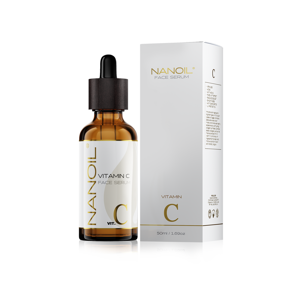 face serum with vitamin c Nanoil